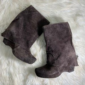 Vera Wang Lavender Two Way Bootie Size 8 Brown